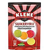 Klene Sugar free wine gums with fruit flavored fruit coins 105g