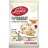 Lonka Soft nougat pinda's en vruchten 210g
