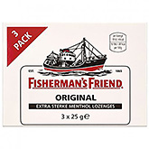 Fisherman's Friend Original 3x25g 75g