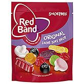 Red band Snoepmix original zacht zoet drop 280g