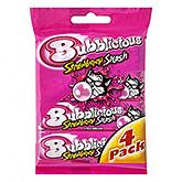 Bubblicious Strawberry splash 4x38g