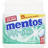 Mentos Chewing gum white green mint 113g