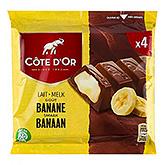 Côte d'or Banana 3x48g