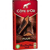 Côte d'or Bonbonbloc praline ren 200g
