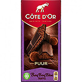 Côte d'or Bonbonbloc trøffel pure 190g