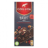 Côte d'or Brut pure pecans and cranberries 180g