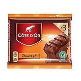 Côte d'or Dessert 58 3x45g