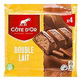 Côte d'or Double lait 3x46g
