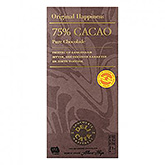 Delicata 75% cocoa pure chocolate 100g