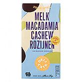 Delicata Melk macadamia cashew rozijnen 180g