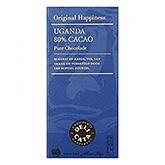 Delicata Uganda 80% kakao ren chokolade 100g