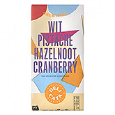 Delicata Wit pistache hazelnoot cranberry 180g