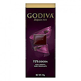 Godiva 72% cocoa rich smooth dark chocolate 90g