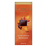 Godiva Blood orange dark chocolate with blood orange pieces 90g