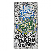 Johnny Doodle Dark salty fudge 180g