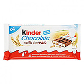 Kinder Chocolate with cereals 94g