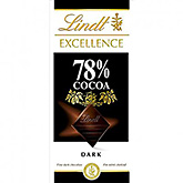 Lindt Excellence 78% cocoa dark 100g