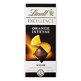 Lindt Excellence orange intense noir 100g