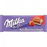 Milka Strawberry flavor 100g