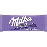Milka Alpine melk 100g