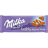 Milka Bubbly alpine melk 100g