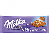 Milka Bubbly lait alpin 100g