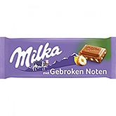 Milka Gebroken noten 100g