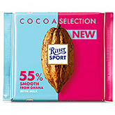 Ritter sport Cacao selection 55% smooth from Ghana white milk 100g