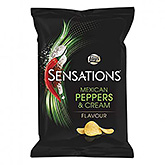 Lay's Sensations Mexican peppers and cream 150g
