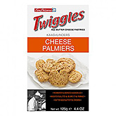 Twiggles Cheese palmiers 125g