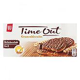 LU Time out Granenbiscuits melkchocolade 195g