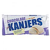 Kanjers Witte chocolade caramelwafels 180g