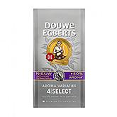 Douwe Egberts Select aroma variaties 4 premium filtermaling 250g