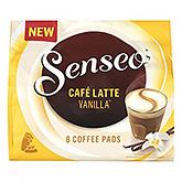 Senseo Café latte vanilla 8 coffee pads 92g