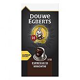 Douwe Egberts Espresso krachtig 10 capsules 52g