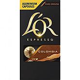 L'OR Espresso Colombia 10 capsules 52g
