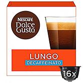 Nescafé Dolce gusto lungo decaffeinato 16 capsules 112g
