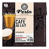 Perla Café au lait dolce gusto compatible 12 capsules 144g