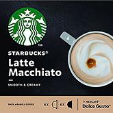 Starbucks Latte macchiato dolce gusto compatible 12 capsules 129g
