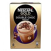 Nescafé Gold double choc mocha 8 cups 148g