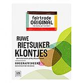 Fairtrade original Ruwe rietsuikerklontjes 500g