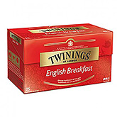 Twinings English breakfast 25 bags 40g