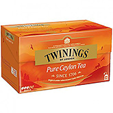 Twinings Pure Ceylon tea 25 bags 50g