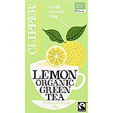 Clipper Lemon organic green tea 20 bags 35g
