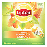Lipton Mandarin and orange green tea 20 bags 36g
