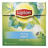 Lipton Springy mint green tea 20 bags 36g