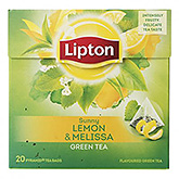 Lipton Sunny lemon and melissa green tea 20 bags 32g