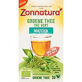 Zonnatura Groene thee matcha 20 zakjes 36g