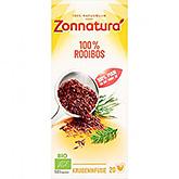 Zonnatura 100% Rooibos 20 zakjes 30g
