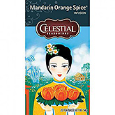 Celestial seasonings Mandarin orange spice 20 tea bags 54g